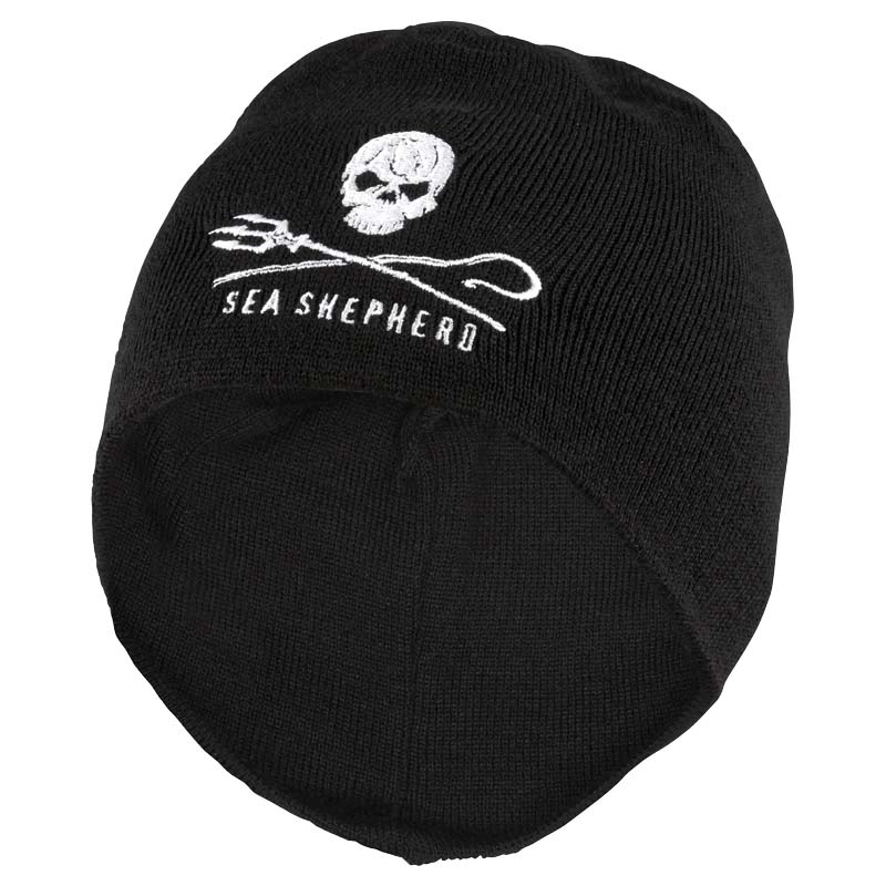 sea shepherd switzerland beanie jolly roger. Black Bedroom Furniture Sets. Home Design Ideas